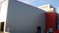 Hallenneubau in Ortrand - HGB Hallen- und Gewerbebau Dresden GmbH